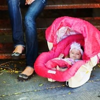Sprinkled Carseat Canopy Whole Caboodle