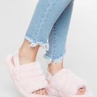 UGG® Fluff Yeah Slide - Women's Shoes in Seashell Pink | Buckle