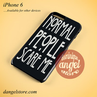 American Horror Story Quotes Phone case for iPhone 6 and another iPhone devices