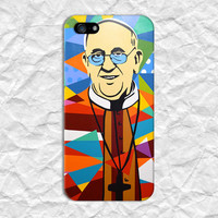 Abstract Cartoon Pope John Paul Phone Case for iPhone 6 6 Plus iPhone 5 5s 5c 4 4s Samsung Galaxy s6 s5 s4 & s3 and Note 5 4 3 2