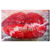 Oliver Gal ''Rusted Love'' Canvas Art Print