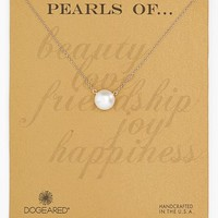 Women's Dogeared Freshwater Pearl Necklace - Pearl /