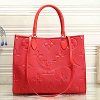 Louis Vuitton LV Women Fashion Leather Handbag Tote Satchel Shoulder Bag