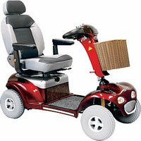 Sprinter XL4 Deluxe 889XLSBN - Shoprider Mobility 4-Wheel Full Size Scooters   TopMobility.com