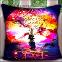 Once Upon a Time Captain Hook Believe - Pillow Cover Pillow Case and Decorated Pillow.