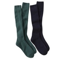 Merona® Women's 2-Pack Knee High Cable Boot Socks - Assorted Colors