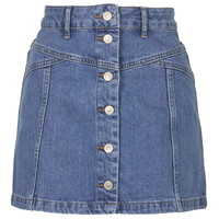 PETITE Button Through Skirt - New In