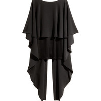 Top with Cape - from H&M