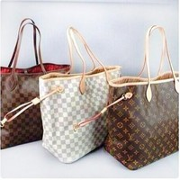 LV Two Piece Shoulder Bags Women Girl Preferred Shoping Bags Fashion Bags