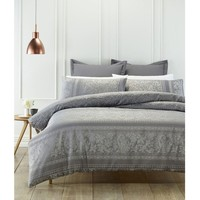 Cambridge Grey Quilt Cover Set by Phase 2
