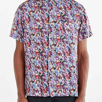 Globe Short-Sleeve Fennell Button-Down Shirt- Multi