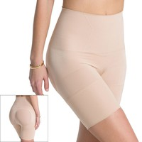 ASSETS Red Hot Label by Spanx Flat Out Flawless Mid-Thigh Body Shaper FS3915 - Women's