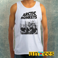 Arctic Monkeys Clothing Tank Top For Mens