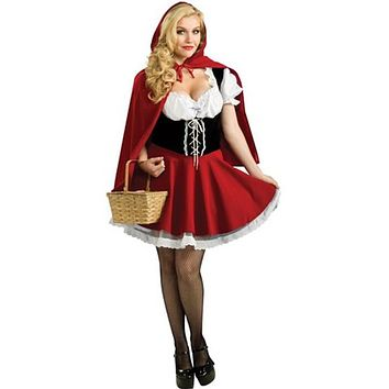 Sexy Cosplay Little Red Riding Hood Outfit S-6XL