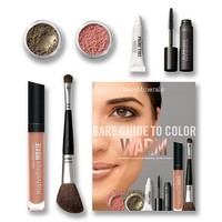 Bare Guide to Color Warm   Makeup Collections   bareMinerals