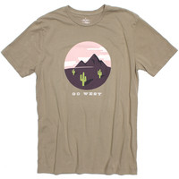 Altru Apparel Go West Scene Tee