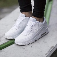 Nike-Air-Max-90-Essential sports and leisure air cushion running shoes