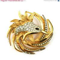 Givenchy Bird Figural Brooch