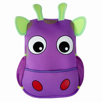 Toddler Kids backpacks Kindergarten cow  small shoulder bag for baby girl and boy