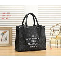 LV Louis Vuitton Women Fashion Leather Satchel Tote Shoulder Bag Handbag size:30*25