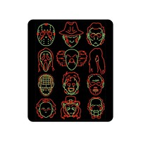 Horror Heads Mouse Pad