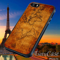 World Map - Samsung Galaxy S2/S3/S4,iPhone 4/4S,iPhone 5/5S,iPhone 5C,Rubber Case,Cell Phone,Case,Accessories - 211013/CA8