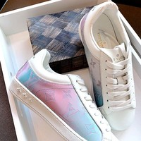 LV 2019 new casual classic gradient sports shoes