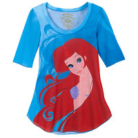 ''The Art of the Disney Princess'' Ariel Tee for Women by Disney Couture   Disney Store