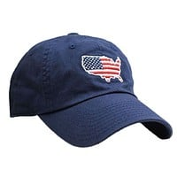 America Traditional Hat in Navy by State Traditions