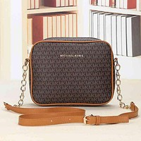 Best Gifts Michael Kors MK Women Shopping Bag Leather Satchel Crossbody Shoulder Bag