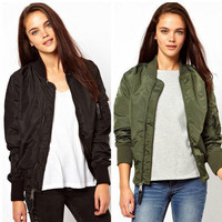 SIMPLE - Fashion Trending Fashion Women Outerwear Jacket b4951