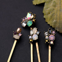 Simple ElegantAll-match Lady  HairpinClamps Clip Hairdressing Hair Grip=SP049