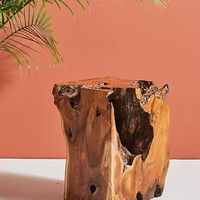 Live-Edge Side Table
