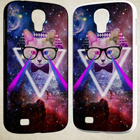 Geek Glasses Posters F0463 Samsung Galaxy S3 S4 S5 (Mini), Note 2 Note 3 Note 4, HTC One M7 M8 Cases