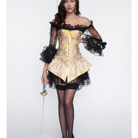 2 Pcs Pirate Costume Adult Halloween Carnival Costumes Fantasia Fancy Dress Cosplay Caribbean Pirates Costume For Women