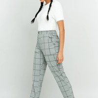 Light Before Dark Plaid Straight-Leg Pant | Urban Outfitters