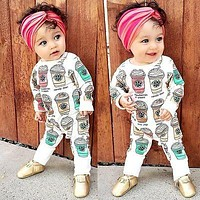 Baby Clothes Baby Boy Girl Footed Rompers Infant Baby Romper Long Sleeve Fleece Clothes