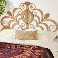 Rope Lace Tiara Headboard