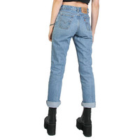 90s Vintage Levis 619 High Waisted Jeans - Blue Jeans - Mom Jeans - Levis Jeans - Boyfriend Jeans Levi - Bootcut - Small - 27 W