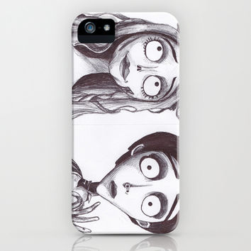 The Corpse Bride iPhone & iPod Case by Chris Bird