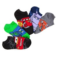 Cars - Racecars Kids Boys Socks 5-Pack