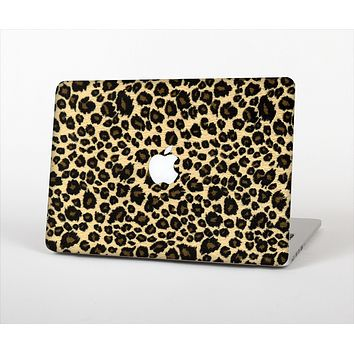 """The Small Vector Cheetah Animal Print Skin Set for the Apple MacBook Pro 13"""""""