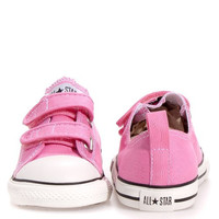 Converse Baby Girls' Infant Chuck Taylor 2 Strap Ox - Pink - 2 Infant