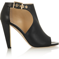 Jimmy Choo - Hasten cutout leather ankle boots