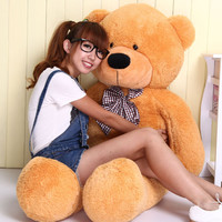 3 Ft Large Plush Teddy Bear in 4 Colors by Baby in Motion