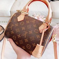 LV Louis Vuitton New fashion monogram leather shoulder bag women handbag