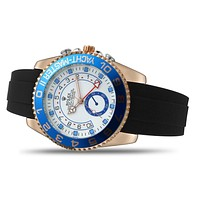 Rolex Fashion Gradient Color Dial Trendy Men's and Women's Casual Business Watches