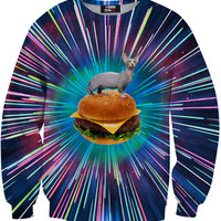 Cat Burger Crewneck Sweatshirt