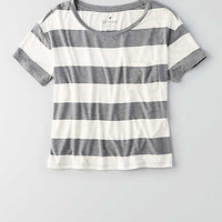 AEO Soft & Sexy Sky High T-Shirt, Heather Grey