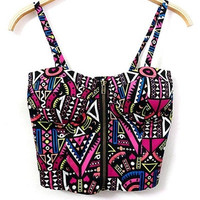 Geo Cropped Top = 5698971073